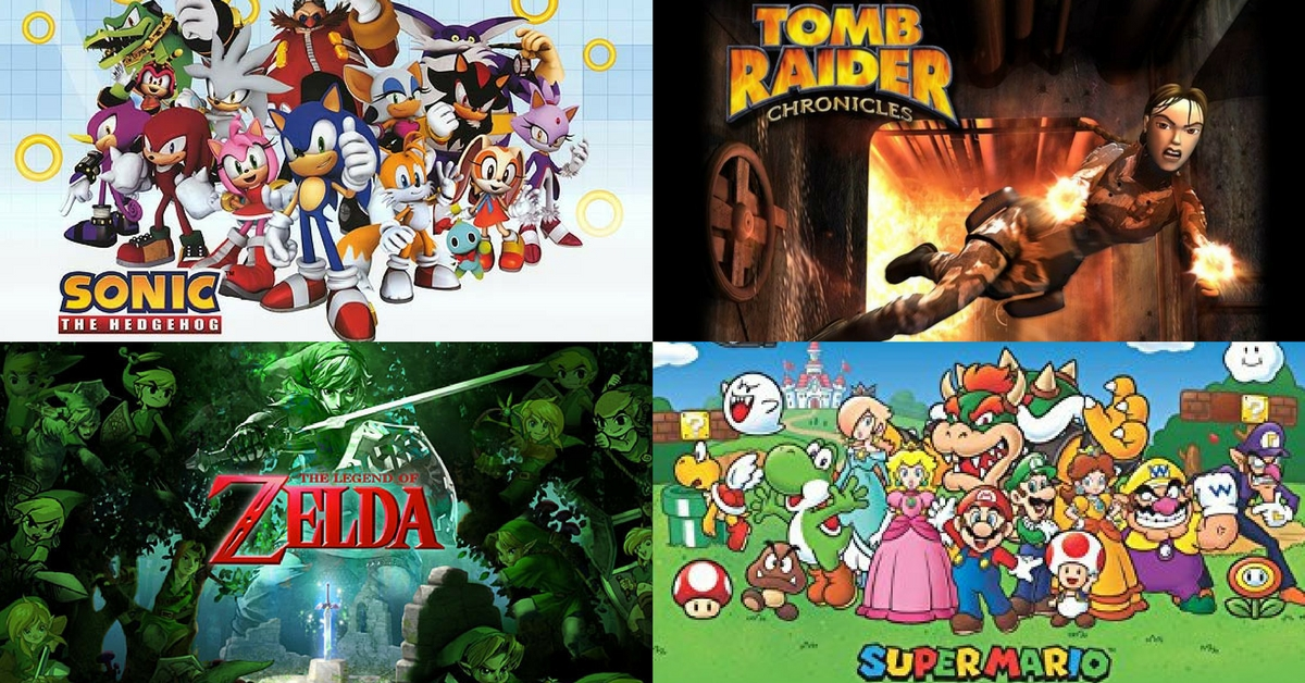 Video Game Iconic Characters