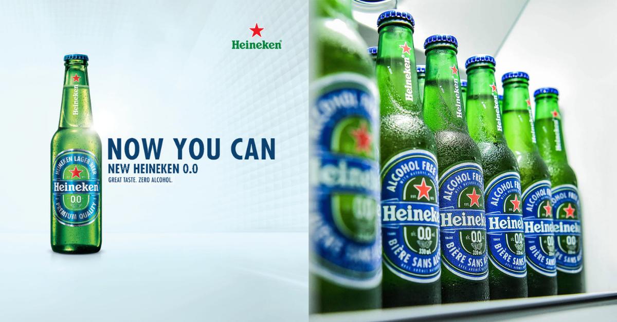 Meet Heineken's Very Own Non-Alcoholic Beer, Heineken 0 0