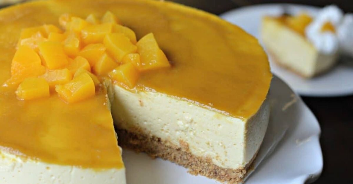 Omg You Have To Try This Easy No Bake Mango Cheesecake Recipe At Home Sevenpie Com Because Everyone Has A Story To Tell